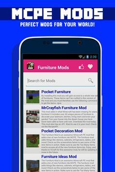 Furniture MOD For MCPE! screenshot 6