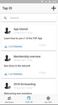 TapNetwork screenshot 1