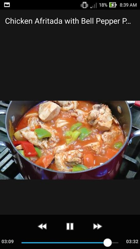 Chicken afritada w bell pepper pinoy food recipe descarga apk chicken afritada w bell pepper pinoy food recipe captura de pantalla de la apk forumfinder Image collections