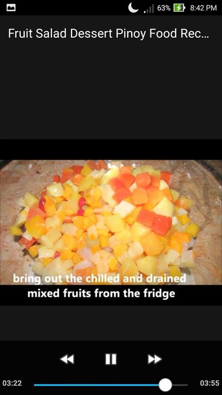 Fruit salad dessert pinoy food recipe video apk download free food fruit salad dessert pinoy food recipe video apk screenshot forumfinder Images