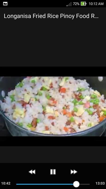 Longanisa fried rice pinoy food recipe video apk download free longanisa fried rice pinoy food recipe video apk screenshot forumfinder Images