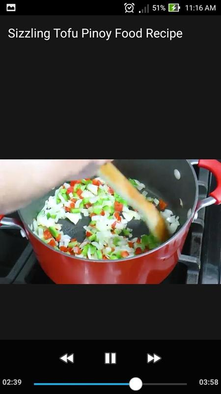 Sizzling tofu pinoy food recipe video offline descarga apk gratis sizzling tofu pinoy food recipe video offline captura de pantalla de la apk forumfinder Image collections