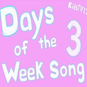 Days of the Week Song for Kids Offline Video icon