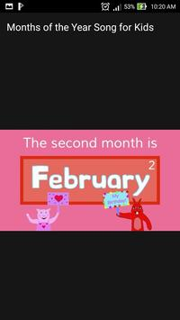 Months of the Year Song for the Kids Offline for Android