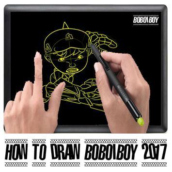 Tutorial Draw Boboiboy New apk screenshot