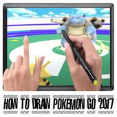 Tutorial Draw Pokemon New 2017 icon