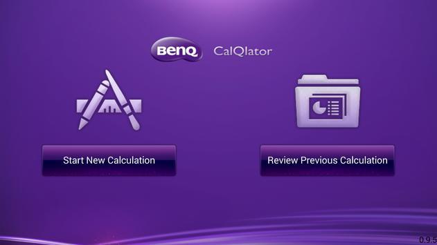 BenQ CalQlator poster