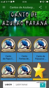 Cantos de Azulaoparana apk screenshot