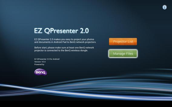 BenQ EZ Qpresenter 2.0 poster