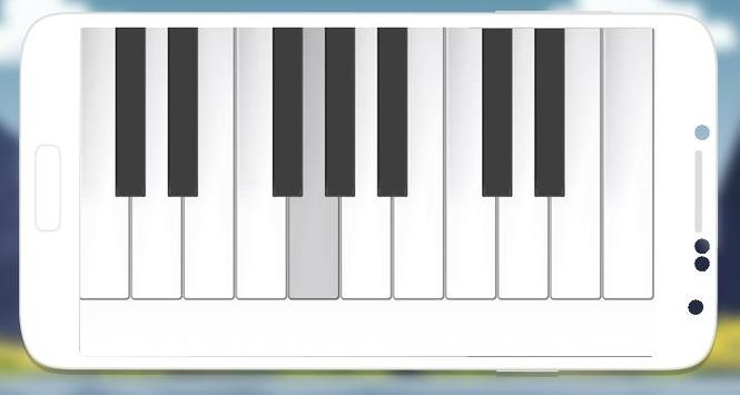 Free piano pianist app poster