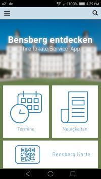 Bensberg Entdecken poster