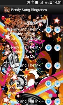 Free Bendy Ringtones Ink Songs apk screenshot