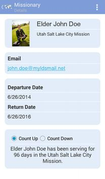 LDS Missionary Tracker screenshot 1