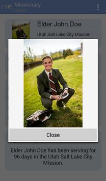 LDS Missionary Tracker screenshot 2