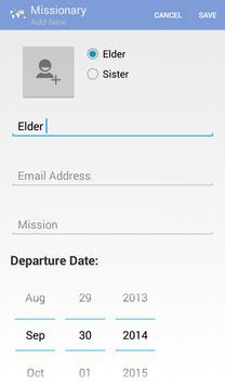 LDS Missionary Tracker screenshot 5