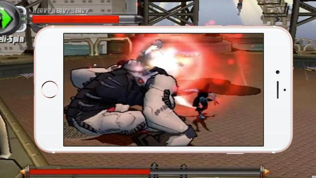 Ben War Alien Fighting poster