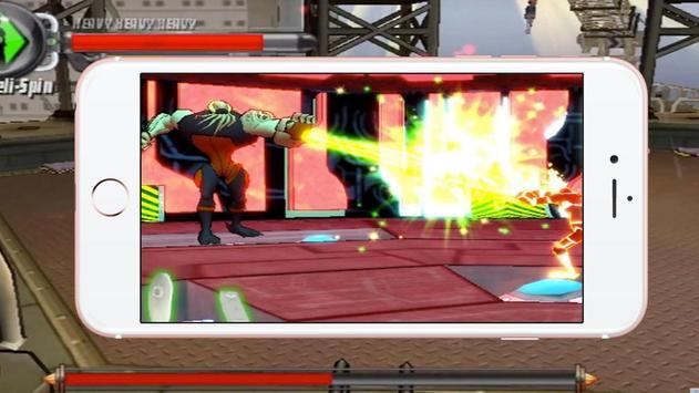 Ben War Alien Fighting apk screenshot