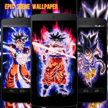 Goku Super Saiya Wallpaper Full HD 2018 apk screenshot