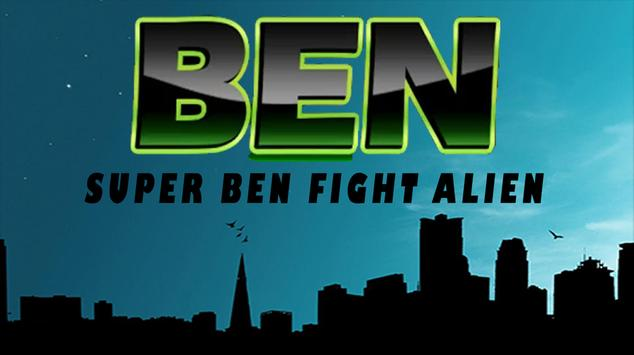Super Ben Alien force poster