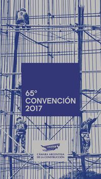 65° Convencion Anual poster