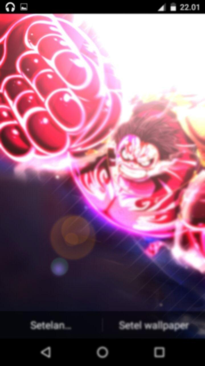 Fanart Monkey D Luffy Gear Fourth Live Wallpaper For Android