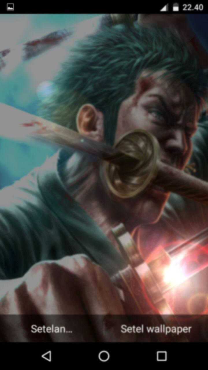 Zoro Live Wallpaper For Android