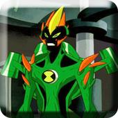 Ben Vilgax Attacks Alien Force Fighting icon