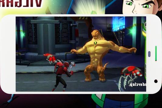 Ben Vilgax Attacks Alien Force Fighting screenshot 1