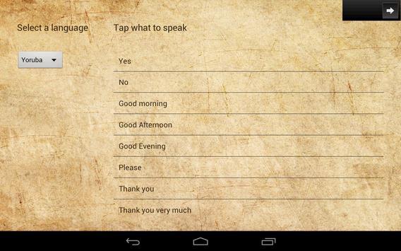 Speak in Nigeria capture d'écran 5
