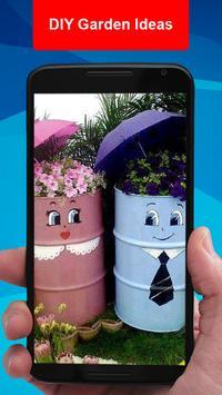 DIY Garden Ideas poster