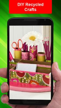 DIY Recycled Crafts apk screenshot