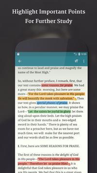 Spurgeon Sermons apk screenshot