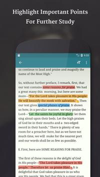 Spurgeon Sermons apk screenshot