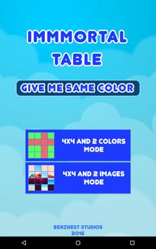 Puzzle Game - Immortal Table Color screenshot 16