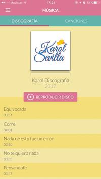 Karol Sevilla apk screenshot