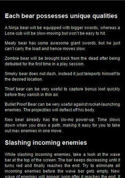 Guide Bushido Bear screenshot 2