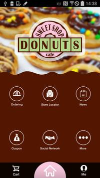 Sweet Shop Donuts Cafe poster