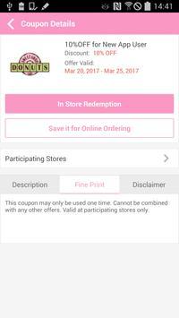 Sweet Shop Donuts Cafe apk screenshot