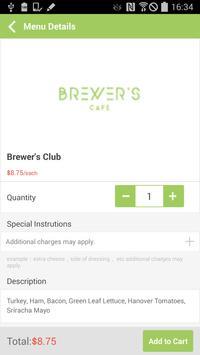 Brewers Café apk screenshot