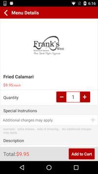 Franks West apk screenshot