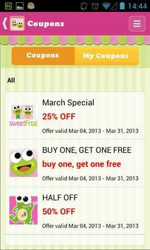 sweetFrog apk screenshot