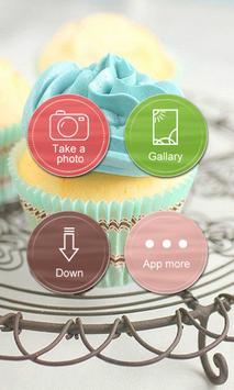Cake Photo Frame poster