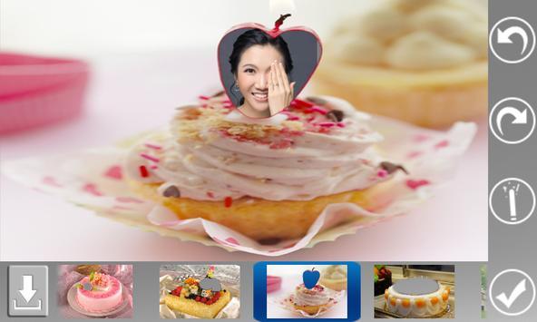 Cake Photo Frame apk screenshot