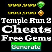 Cheats Temple Run 2 Free Gems icon