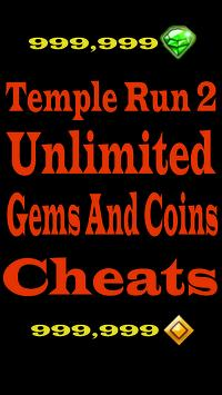 Cheats Temple Run 2 Free Gems apk screenshot