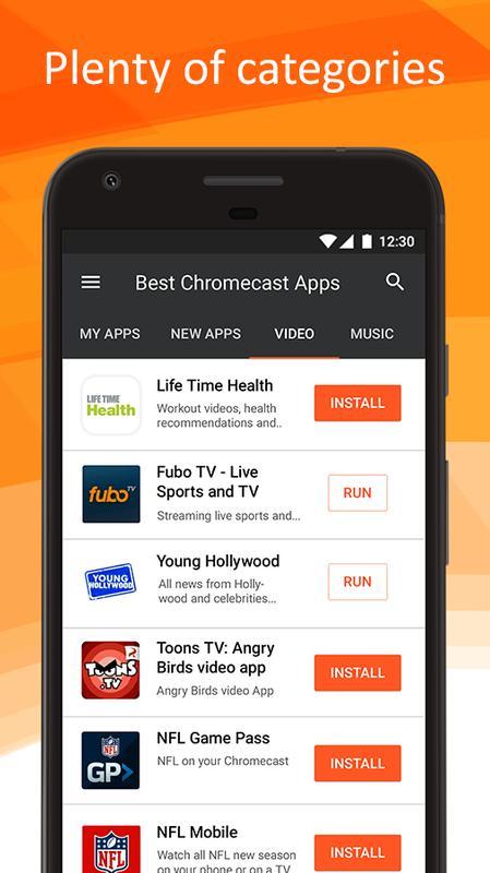 how to use chromecast app
