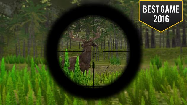 Big Deer Hunter 2017 - Jungle Sniper Hunting apk screenshot