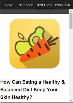 Best Food For Healthy Skin screenshot 3