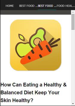 Best Food For Healthy Skin screenshot 4