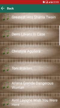 Best Songs MP3 captura de pantalla 3